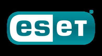 ESET logo – Lozenge – Colour – Dark Turq tag – RGB