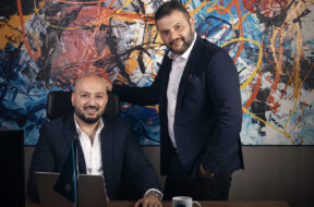 (from Left) Osama Mortada, founder and CEO _ Mohamed Abdin, Co-Founder of CorporateStack